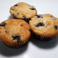Breakfast Blueberry muffins