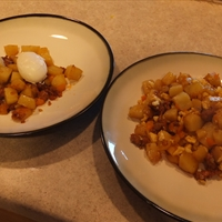Breakfast Potatoes with Chorizo