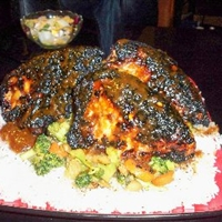 Breast of Chicken Teriyaki