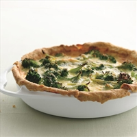 Broccoli Garlic Quiche