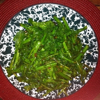Broccoli Rabe with Spicy Sesame Oil