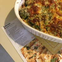 Broccoli & Spinach Gratin