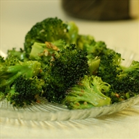Bear Cave Broccoli w/Garlic & Parmesan Cheese