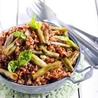 Brown Rice and Beans (Vegan)