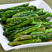 Brown sugar & Soy Asparagus