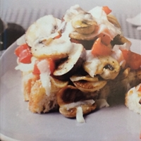Bruschetta With Skillet-seared Mushrooms And Grana Padano