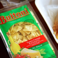 Buitoni three cheese ravioli