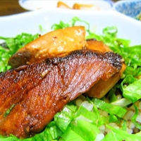 Buri Teriyaki Don (Yellowtail Teriyaki bowl)