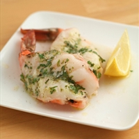 Butter and Herb Poached Shrimp