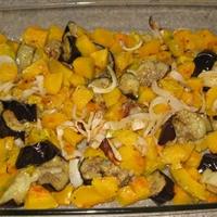 Buttercup Squash & Eggplant Tureen