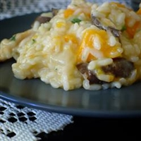 Butternut Squash and Shiitake Mushroom Wild Rice Risotto
