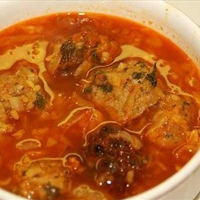 Cabbage Soup W/ Turkey Meatballs