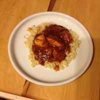 Cajun Brandy chicken