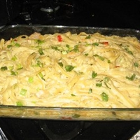 Cajun-spiced Chicken Fettuccine (9 Points)