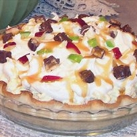 Candy Bar Apple Pie