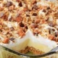Candy Bar Freezer Dessert Recipe