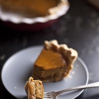 Caramelized Apple & Pumpkin Pie