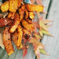 Caramelized Coconut Pumpkin Fries