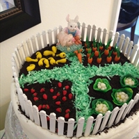 Carrot Cake - Jean's Easter Centerpiece