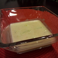 Cauliflower-leek Soup