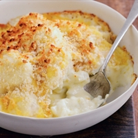 Cauliflower mornay