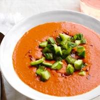 Charred Tomato Gazpacho