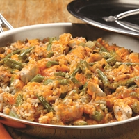 Cheddar Chicken and Rice