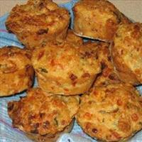 Cheese and Bran Muffins
