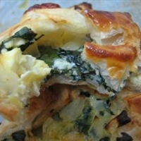 Cheese and Spinach Puffs