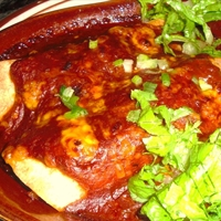 Cheese & Chicken Enchiladas
