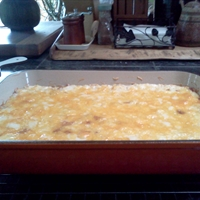 Cheesy Meaty Hash Brown Casserole