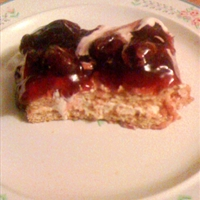 Cherry-topped Icebox Cake