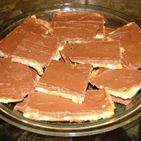 Chewy Toffee Squares