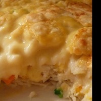 Chicken and Biscuit Bake