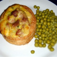 chicken and corn vol-au-vents