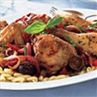 Chicken Cacciatore - kind a gormet Mag