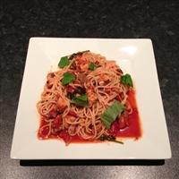 Chicken Cacciatore, Spaghetti & Smoky Tomato Sauce