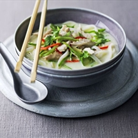 Chicken Coconut Soup (dtom kaa gai)