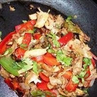 Chicken Fajitas Or Steak