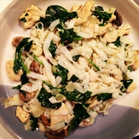 Chicken Florentine Pasta Swap (Hungry Girl)