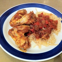 Chicken Goulash (porkolt)