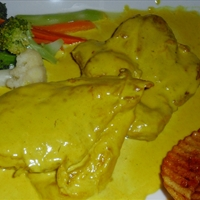 Chicken In Mustard Gravy