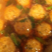 Chicken kofta curry