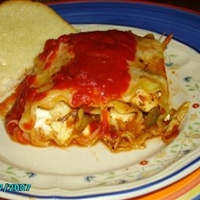 Chicken Lasagna Rollup