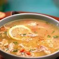 Chicken Lemon Orzo Soup