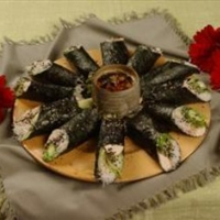 Chicken Nori Salad Rolls