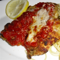 Chicken Parmesean with a Twist