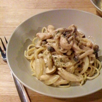 Lemon Cream Cheese Pasta with Chicken