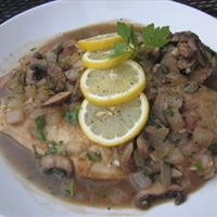 Chicken Scaloppine with Porcini Mushrooms