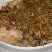 Chicken & Stuffing Casserole